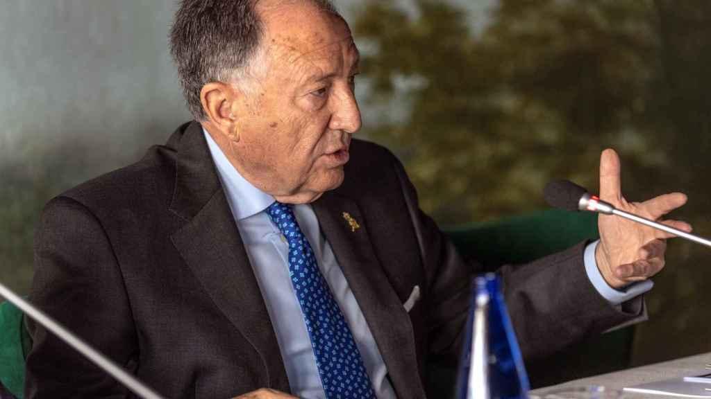 El general Sanz Roldán, en un seminario celebrado esta semana en Toledo.