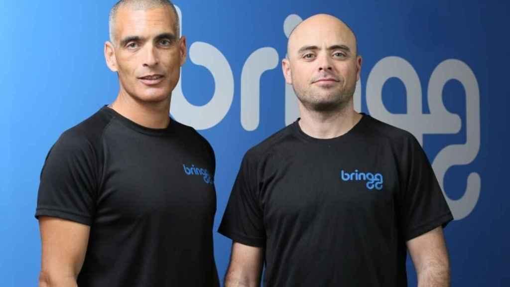 Raanan Cohen y Lior Sion, cofundadores de Bringg.