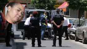 Ana Lucía da Silvia, arriba a la izquierda. La Policía traslada los cadáveres al Instituto de Medicina Legal.