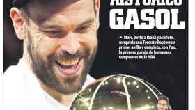 La portada del diario Mundo Deportivo (15/06/2019)