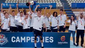 El Infantil A, campeón de España