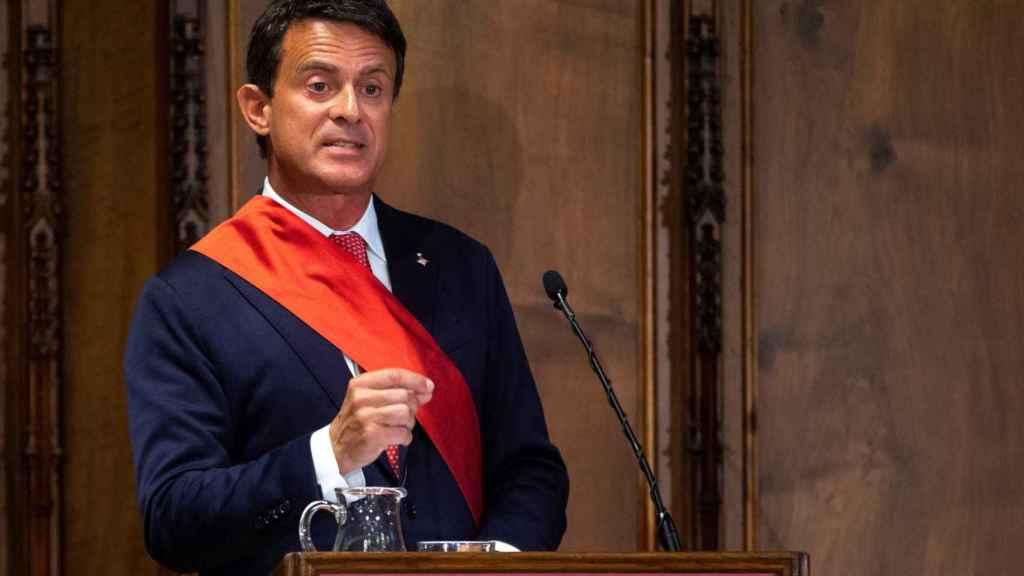 Manuel Valls .