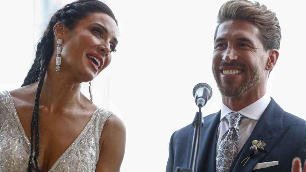Los recién casados no han querido dejar sin dudas a los periodistas.