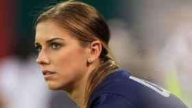 Alex Morgan, internacional de la selección femenina de fútbol de EEUU