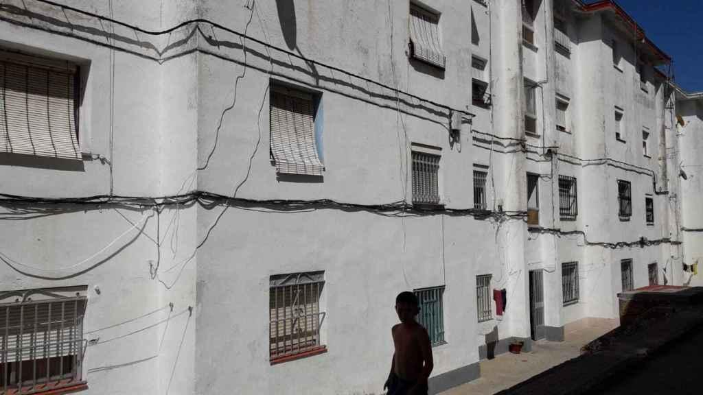 Casa en la que vivía Amanda, en Algeciras, junto a Salvador.
