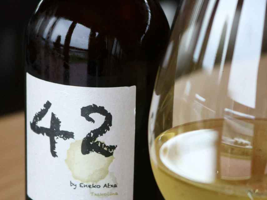 42 by Eneko Atxa, mejor vino blanco en el Concurso Mundial de Bruselas.