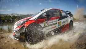 Dani Sordo, en el Rally de Italia