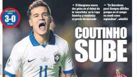 La portada del diario Mundo Deportivo (16/06/2019)