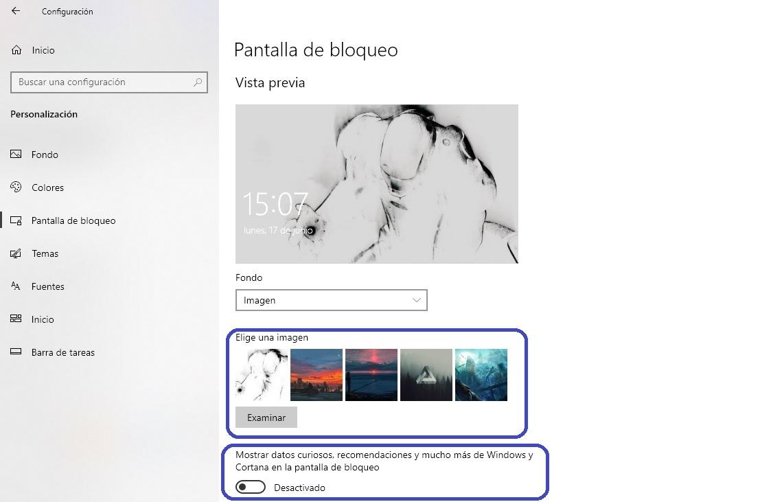 Anuncios Windows 10 3