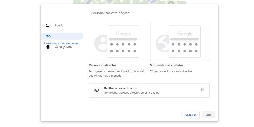 Temas Google Chrome 2