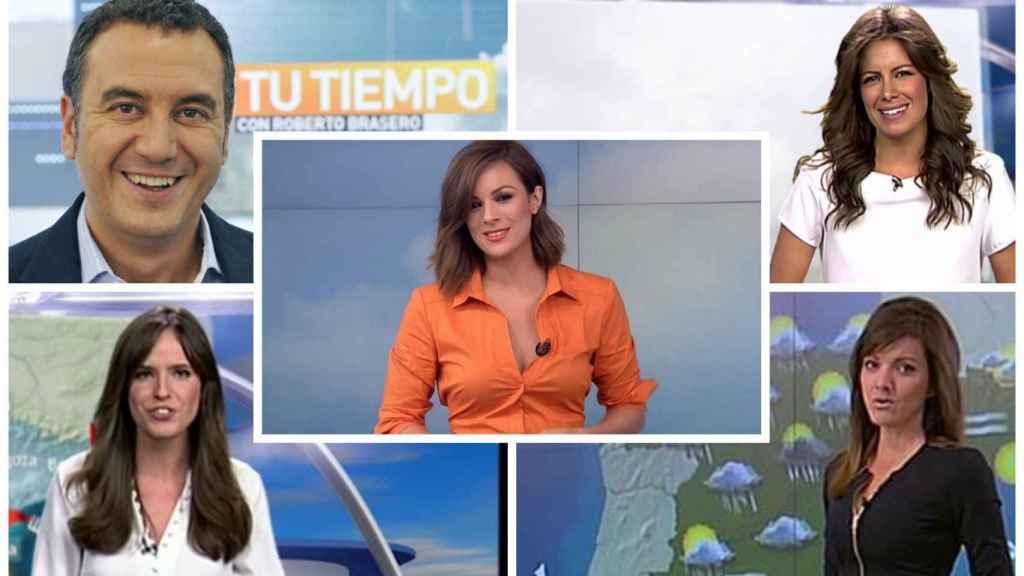 Los Presentadores Del Tiempo De Antena 3 Y Telecinco A Examen No Todos Son Meteorólogos