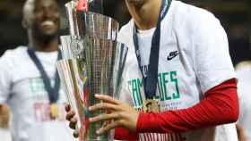 Joao Félix celebra la conquista de la Nations League