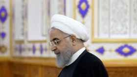 El presidente iraní Rouhani.
