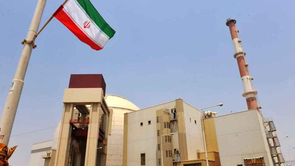 Una central nuclear en Irán.