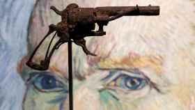 La pistola con la que supuestamente se suicidó Van Gogh.
