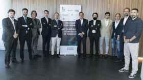 Foto de familia del III Foro EL ESPAÑOL Blockchain y Criptomonedas. Así cambiarán los modelos de negocio.