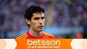 Vallejo, en un partido con la selección española sub21