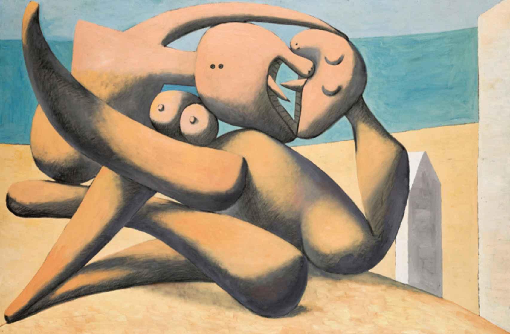 'Figuras a orilla del mar' (1931).