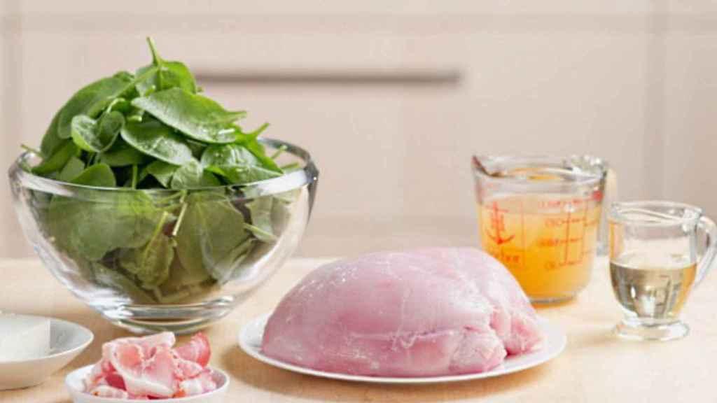 Carnes magras y vegetales ricos en antioxidantes.