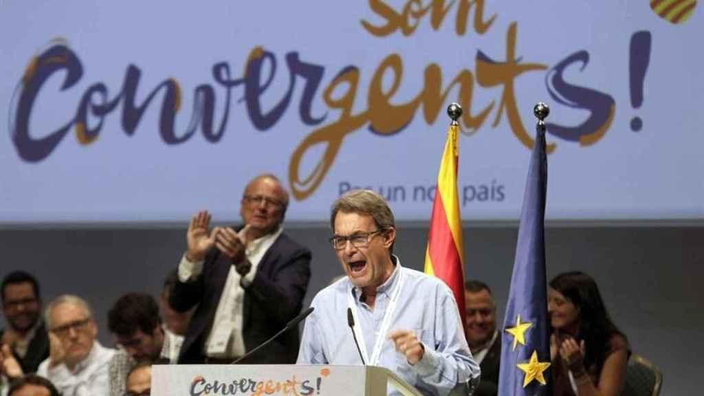 Artur Mas en un acto de Convergència Democrática de Catalunya (CDC)