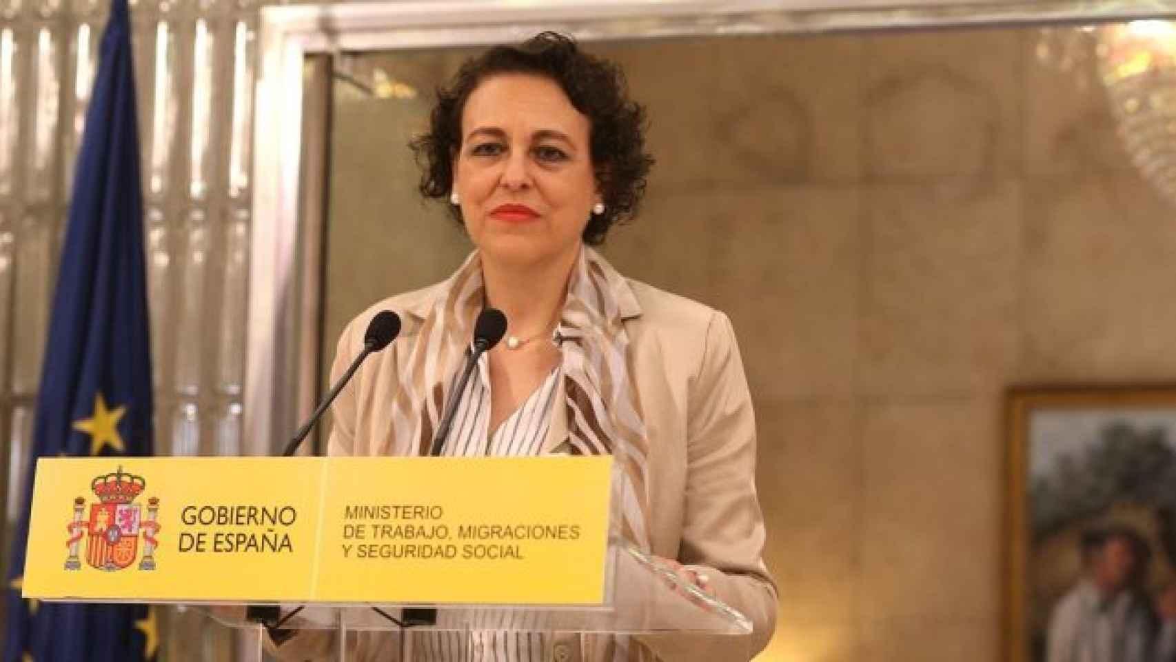 Magdalena Valerio, Ministra de Trabajo. Migraciones y Seguridad Social.