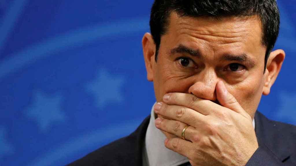 Sergio Moro, ministro de Justicia de Brasil.