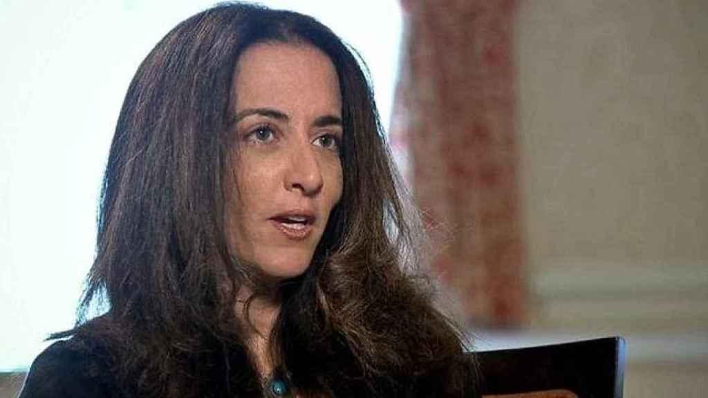 Phaedra Almajid, en una entrevista en Sky Sports