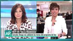 Ana Rosa Quintana y Sonsoles Ónega (Telecinco).