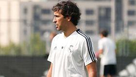 Raú, entrenador del Castilla