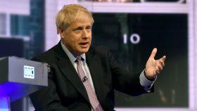 Boris Johnson en el debate de candidatos conservadores de la BBC.
