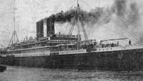 El buque Sinaia llega a México con exiliados españoles.