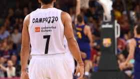 Facundo Campazzo ante el Barcelona Lassa