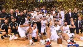 El Real Madrid con su Liga ACB número 35