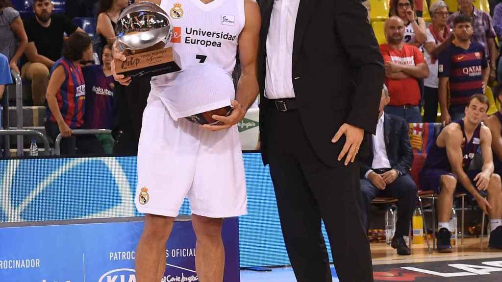 Campazzo, elegido MVP de la final de la Liga ACB
