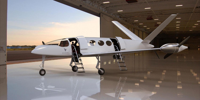Avión eléctrico 2