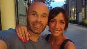 Andrés Iniesta y Anna Ortiz en una imagen de su Instagram.