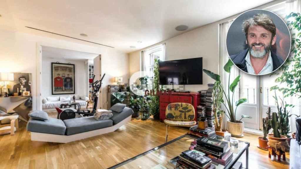 Fernando Tejero ha tenido que bajar el precio de venta de su casa en Madrid.