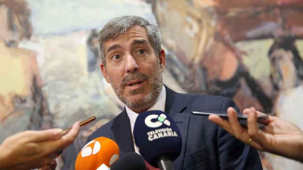 Fernando Clavijo, presidente en funciones de Canarias.