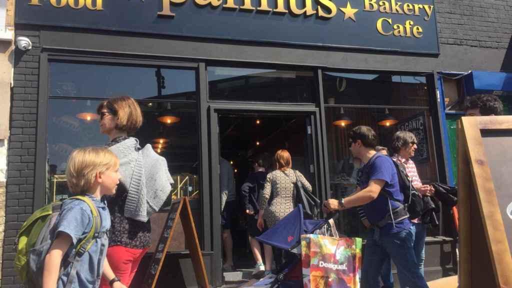 El establecimiento de Pannus Café en Londres.