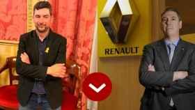 A LOS LEONES: Joan Canadell (Cámara de Comercio de Cataluña) y José Vicente de los Mozos (Renault)