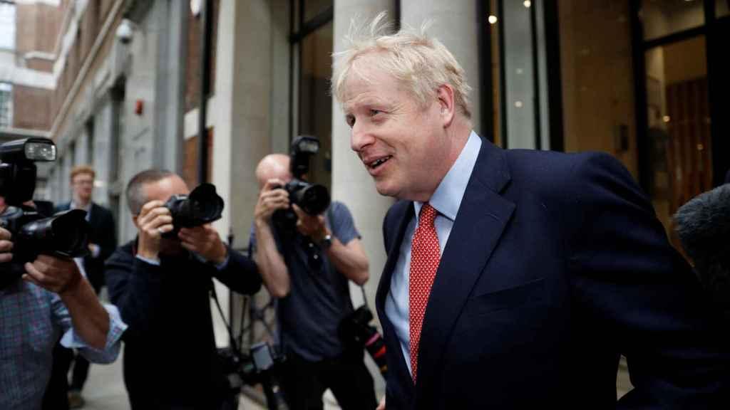 El favorito absoluto para suceder a Theresa May, Boris Johnson