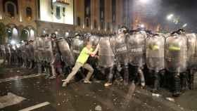 Disturbios en Georgia