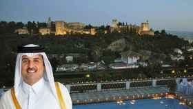 ¿Compró el rey de Qatar un chalet frente a la Alhambra por 20 millones? Granada, revolucionada