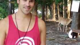 David fue monitor de natación en distintas localidades de Asturias.