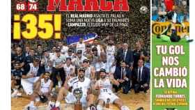 Portada diario MARCA (22/06/2019)