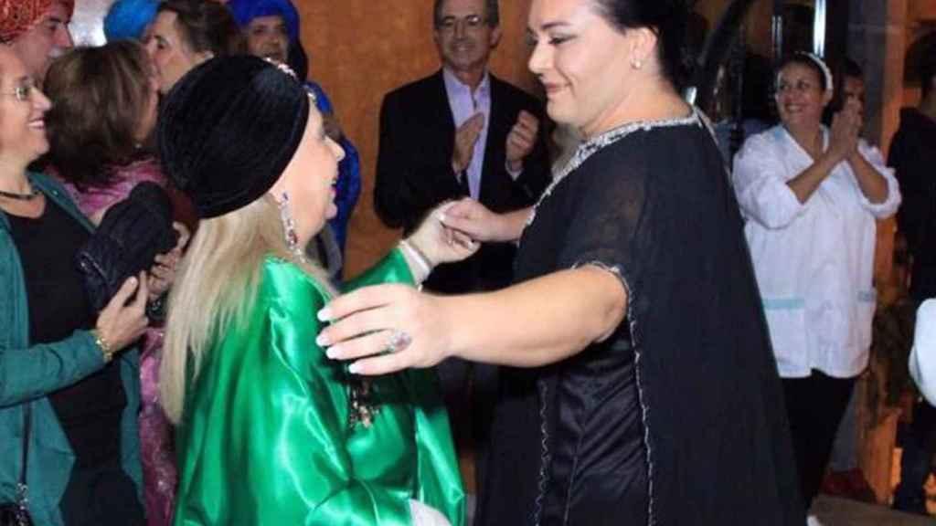 Falete, durante una fiesta en la ciudad marroquí