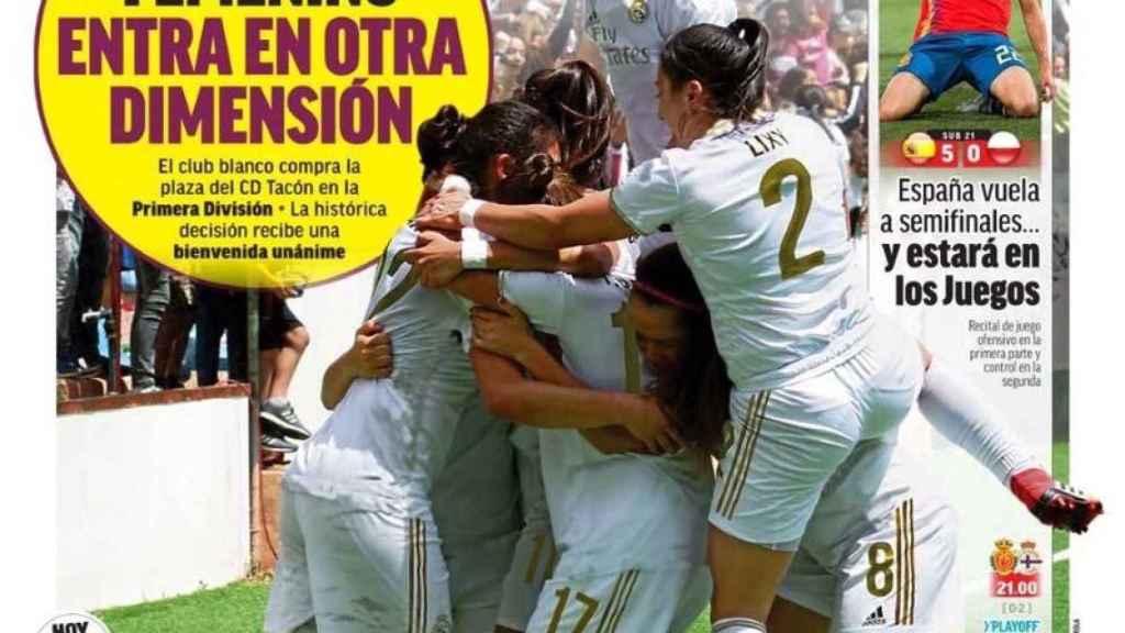 La portada del diario MARCA (23/06/2019)
