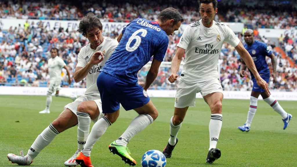 Carvalho en el Corazón Classic Match