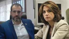 Juan José Liarte y Dolores Delgado.
