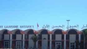 Aeropuerto de El Aaiún, capital del Sáhara Occidental